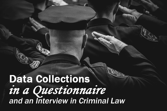 Highschool Essay Example: Data Collections in a Questionnaire and an Interview in Criminal Law